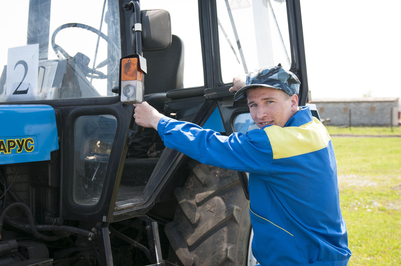 Конкурс тракторист машинист сельскохозяйственного производства