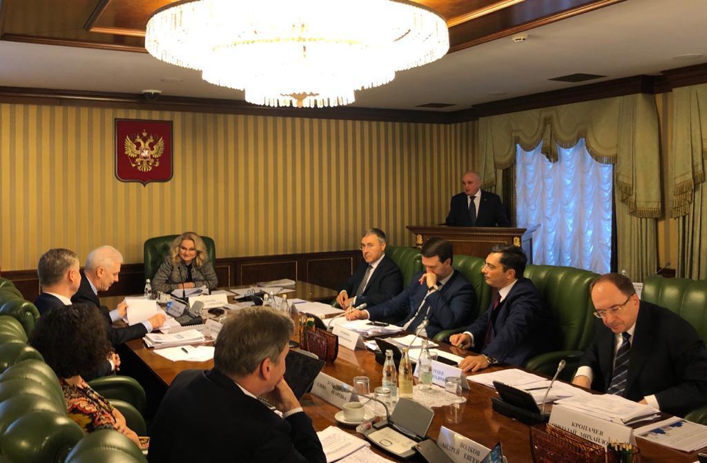 Сергей Цивилев представил результаты работы и перспективные проекты НОЦ «Кузбасс» в Москве